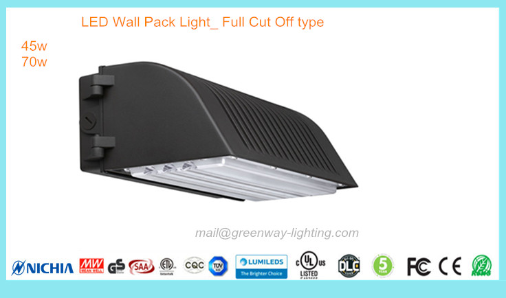 LED Wall Pack Full Cut Off type