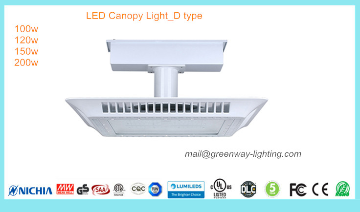 LED Canopy Light D type