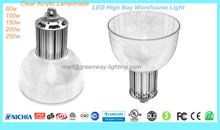 High Bay Light Clear Cover
